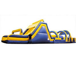XL Inflatable Obstacle Course Rental