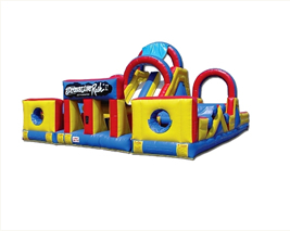 Adrenaline Rush Obstacle Course Rentals